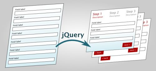 Turn any webform into a powerful wizard with jQuery (FormToWizard ...
